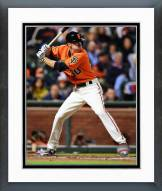 San Francisco Giants Matt Duffy Action Framed Photo