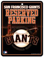 San Francisco Giants Metal Parking Sign