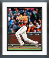 San Francisco Giants Michael Morse Action Framed Photo