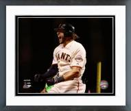 San Francisco Giants Michael Morse NL Championship Series Framed Photo