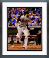San Francisco Giants Michael Morse World Series Action Framed Photo