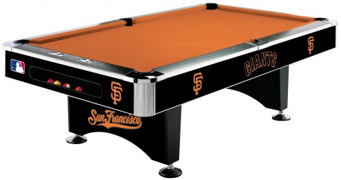 San Francisco Giants MLB Pool Table
