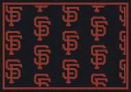 San Francisco Giants MLB Repeat Area Rug