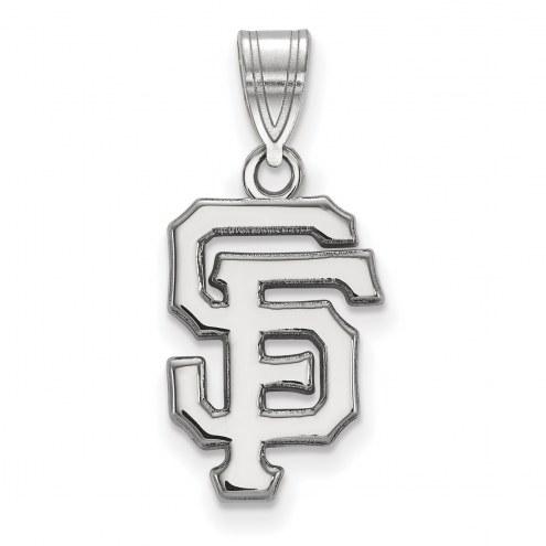 San Francisco Giants Sterling Silver Medium Pendant