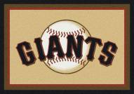San Francisco Giants MLB Team Spirit Area Rug