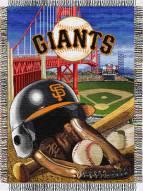 San Francisco Giants MLB Woven Tapestry Throw Blanket