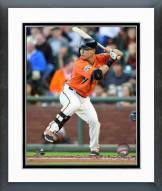 San Francisco Giants Norichika Aoki Action Framed Photo