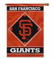 "San Francisco Giants 28"" x 40"" Banner"