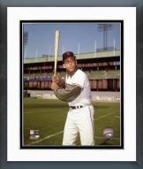 San Francisco Giants Orlando Cepeda Posed Batting Framed Photo