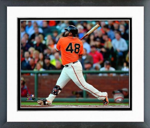 San Francisco Giants Pablo Sandoval Action Framed Photo