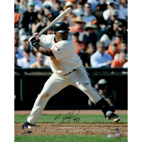 "San Francisco Giants Pablo Sandoval Collage Signed 16"" x 20"" Photo"