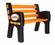 San Francisco Giants Park Bench
