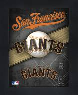 San Francisco Giants Framed 3D Wall Art