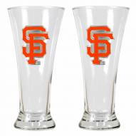 San Francisco Giants Premiere Pilsner Glass Set