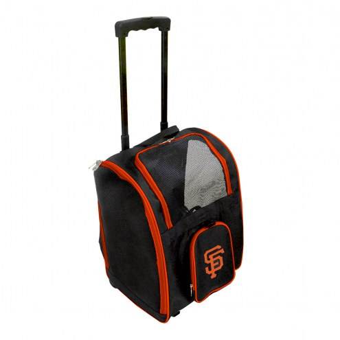 San Francisco Giants Premium Pet Carrier with Wheels