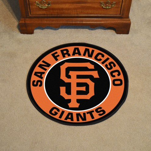San Francisco Giants Rounded Mat
