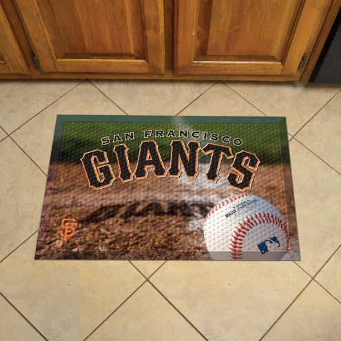 San Francisco Giants Scraper Door Mat