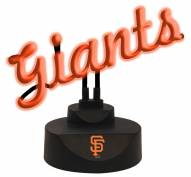 San Francisco Giants Script Neon Desk Lamp