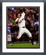 San Francisco Giants Sergio Romo Action Framed Photo