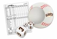San Francisco Giants Shake N' Score Travel Dice Game