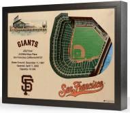 San Francisco Giants 25-Layer StadiumViews 3D Wall Art