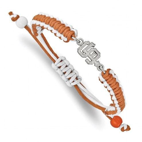 San Francisco Giants Stainless Steel Adjustable Cord Bracelet
