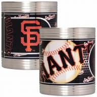 San Francisco Giants Stainless Steel Hi-Def Coozie Set