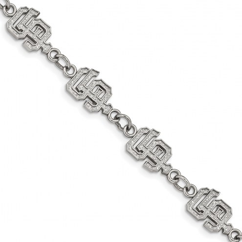 San Francisco Giants Stainless Steel Logo Bracelet