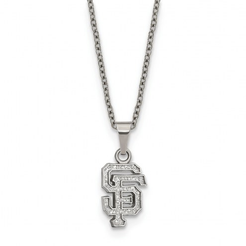 San Francisco Giants Stainless Steel Pendant Necklace