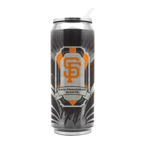 San Francisco Giants Stainless Steel Thermo Can