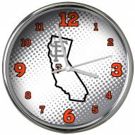 San Francisco Giants State of Mind Chrome Clock