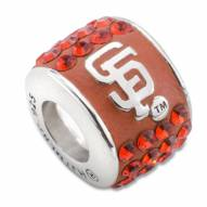 San Francisco Giants Sterling Silver Charm Bead