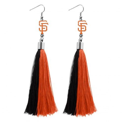 San Francisco Giants Tassel Earrings