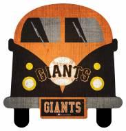 San Francisco Giants Team Bus Sign
