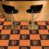 San Francisco Giants Team Carpet Tiles