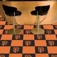 San Francisco Giants Team Carpet Tiles