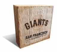San Francisco Giants Team Logo Block