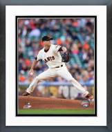 San Francisco Giants Tim Hudson Action Framed Photo