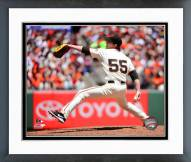 San Francisco Giants Tim Lincecum Action Framed Photo
