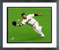 San Francisco Giants Travis Ishikawa World Series Framed Photo