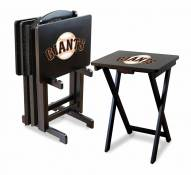 San Francisco Giants TV Trays - Set of 4