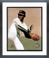 San Francisco Giants Vida Blue Pitching Framed Photo