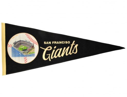 San Francisco Giants Vintage Ballpark Traditions Pennant