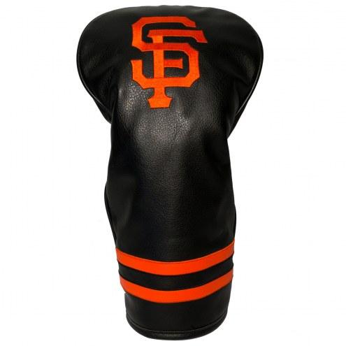 San Francisco Giants Vintage Golf Driver Headcover