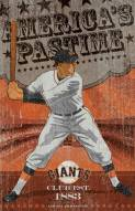 San Francisco Giants Vintage Wall Art