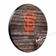 San Francisco Giants Weathered Design Hook & Ring Game
