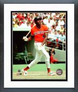 San Francisco Giants Willie McCovey 1977 Action Framed Photo