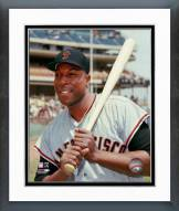 San Francisco Giants Willie McCovey Posed With Bat Framed Photo