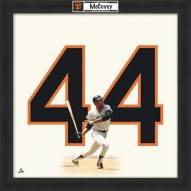 San Francisco Giants Willie McCovey Uniframe Framed Jersey Photo