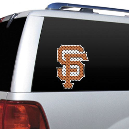 San Francisco Giants Window Film